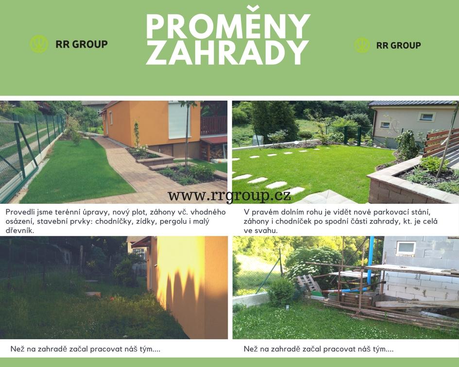 Kompletní proměna zahrady